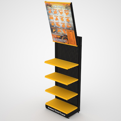 Mesh Gondola - Stand Out Display